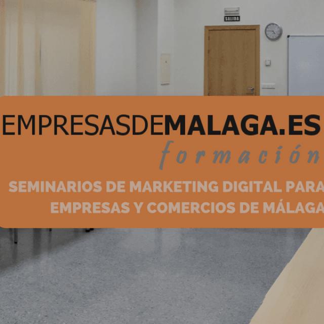 Formación gratuita en marketing digital para empresas y comercios de Málaga