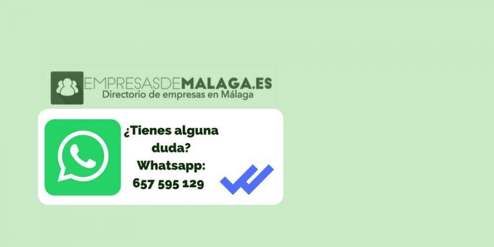 WhatsApp Empresas de Málaga: Resolvemos tus dudas