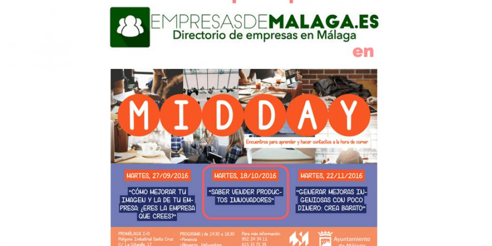 Participación de empresasdemalaga.es en los MIDDAY de PROMÁLAGA