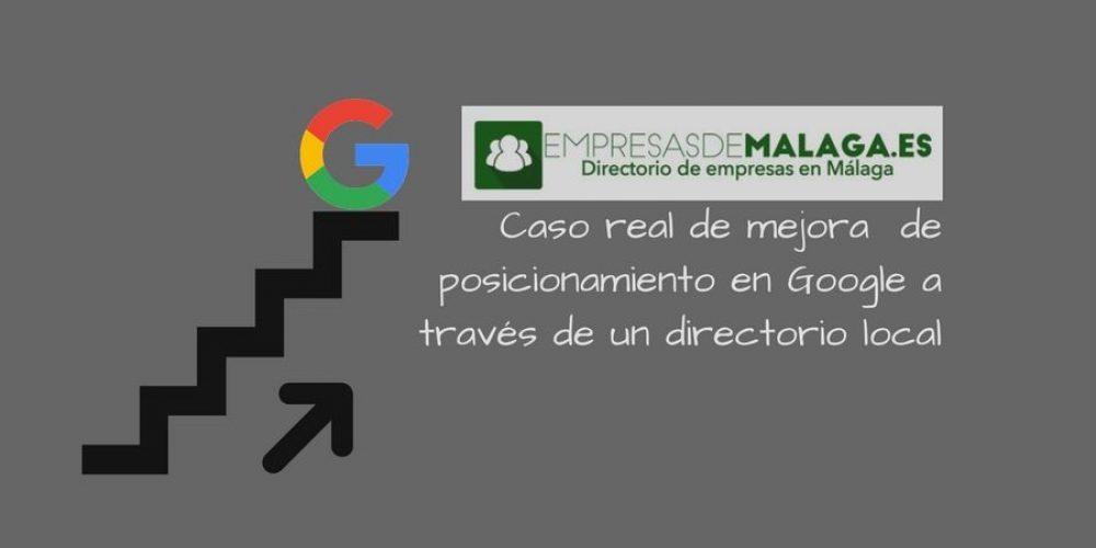 Caso real: Mejora resultados en Google de una tienda de informática a través del directorio empresasdemalaga.es: IMEDIA SISTEMAS